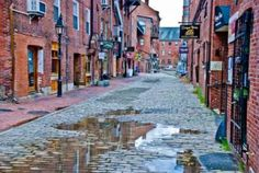 """Really neat """"old style"""" buildings of Portland, Maine!!"""