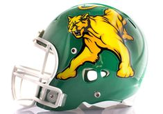 Oversized Panther Football Helmet Decal