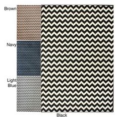 @Overstock - Update and protect your flooring with this exotic zebra rug from Alexa. The colorful choices of brown, navy, or light blue combined with white chevron stripes make this rug a nice addition to most rooms, and the durable material will last for years.http://www.overstock.com/Home-Garden/Alexa-Chevron-Vibe-Zebra-Rug-710-x-1010/5725628/product.html?CID=214117 $148.99