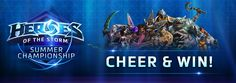 The Heroes of the Storm Summer Global Championship starts on Monday, June 13. The event will run for 6 days, finishing on June 20 at 10 pm CEST.