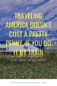 Traveling America Doesn't Cost a Pretty Penny, If You Do It by Train Amtrak Train Travel, Cross Country Trip, Blue Forest, By Train, Beautiful Scenery, Coaches, Travel Usa, Coast, Arm