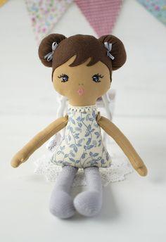 Rag Dolls, Fabric Dolls, Ballerina Doll, Soft Dolls, Baby Girls, Doll Clothes, Etsy Shop, Gray, Toys