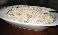 Ingredients 4 boneless chicken breast, cooked and chopped/shredded 1/2 C. onion, chopped 1/2 C. celery, chopped Salt ...