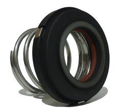 """Selo mecânico Interseal para bomba Alfa laval e Reginox, modelo C216 com diâmetro de eixo de 1.1/8"""". Sede estacionária em Carbono Grafite e vedação por o'ring em Viton."""