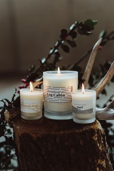 """unitedbyblue: """" 'Tis the season for cozy candles that bring the outdoors in. + United By Blue Gifts """""""