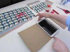 Cómo hacer una funda para tu tablet (da igual el tamaño que tenga) paso a paso, personalizada y súper sencillo!!