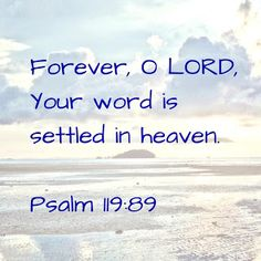 Growing Up In The Word : Secured by His Word