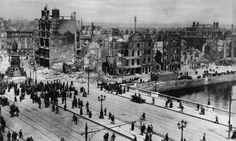 Destruction in Dublin following the 1916 Easter Rising  This picture I picked for a very different reason than the others.  First of all, it's less than 100 years old, but also it's a topic I'm not as familiar with, but would like to learn more about.  There's always something more to learn, no matter how much you have always learned.