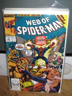 "WEB OF SPIDER-MAN #59 ""PUMA"" AMAZING SPIDER-MAN MARVEL COMICS"