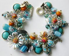 Handcrafted Southwestern Cha Cha Charm Bracelet OOAK |  eBayhttp://www.ebay.com/sch/kathieaug/m.html?_ipg=50&_sop=12&_rdc=1