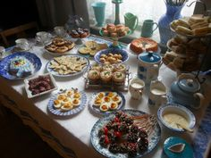 My first attempt at hosting an afternoon tea.