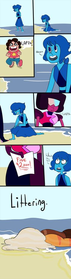 """""""LAPIS JUST WANTED TO GO HOME"""""""
