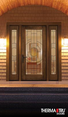 16 best fiber classic mahogany collection images on for Therma tru fiber classic mahogany price