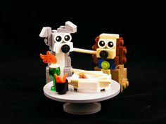 Just look at the puppy dog eyes on display in Nick Della Mora's LEGO rendition of the unforgettable spaghetti-eating scene from Disney's Lady and the Tramp. Using relatively few bricks, Nick has managed to perfectly evoke this famous moment, and capture the charm and personality of the central characters. Check out the perfect recreation of …