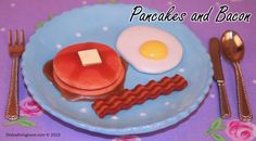Enjoy two of the fluffiest pancakes you've ever had, smothered with homemade maple syrup and butter. Served with a side of bacon and egg cooked to your preference.