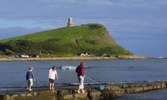 Kimmeridge Bay and Clavell Tower