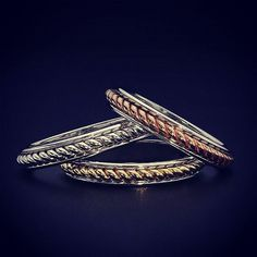 14k rope style wedding bands in white, yellow, and rose gold. Your choice you can pick one or stack them up. Find these and other wedding bands in our ebay store Jewelrybygary. #14kgold #14kyellowgold #gold #luxury #diva #fashionista #love #garysjewelry #jewelrybygary #whitegold #14kwhitegold #14krosegold #buyatgarysjewelry #wedding #bride #goldring #shesaidyes #weddingring #weddingband #weddingring #band #ring #jewelry