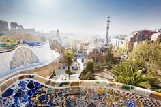 Which city is better: Madrid or Barcelona? See a rundown of how Madrid beats Barcelona and how the Catalonian city trumps the capital. Visit Barcelona, Barcelona Travel, Barcelona Spain, Barcelona Hotels, Visit Madrid, Cool Places To Visit, Places To Go, Beste Hotels, Belle Villa