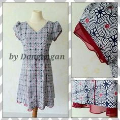 Batik Kalika dress by Dongengan (Facebook: Kreasi Dongengan)