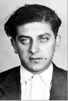 Raymond Burnstein, Abraham Burnstein's brother. He was one of the chief enforcers of the Purple Gang. From: Detroit's Infamous Purple Gang by Paul R. Kavieff