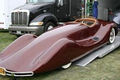Funny pictures about A 1948 Norman Timbs Special. Oh, and cool pics about A 1948 Norman Timbs Special. Also, A 1948 Norman Timbs Special photos. Weird Cars, Cool Cars, Vintage Cars, Antique Cars, Automobile, Colani, Roadster, Car Pictures, Photos