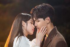 Kpop Couples, Movie Couples, Cute Couples, Korean Celebrities, Korean Actors, Kpop Kiss, Black Pink Songs, Drama Funny, Jin Goo