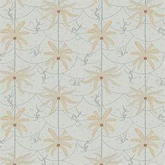 This Mauritz wallpaper is designed by Karolina Kroon for Sandberg Tyg