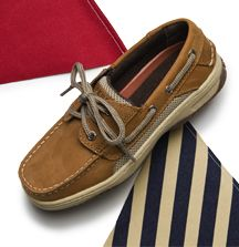 Kids' boat shoes - perfect to transition from summer to fall