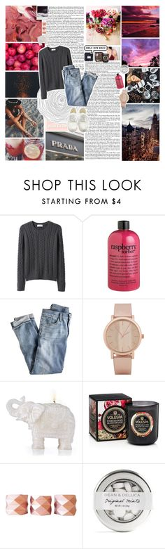 """""""i'll drown in your love"""" by valismyname ❤ liked on Polyvore featuring Love Quotes Scarves, American Eagle Outfitters, Organic by John Patrick, philosophy, J.Crew, ALDO, Voluspa and Polaroid"""