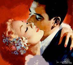 Sweet nothings ~ Jon Whitcomb, ca. 1950s