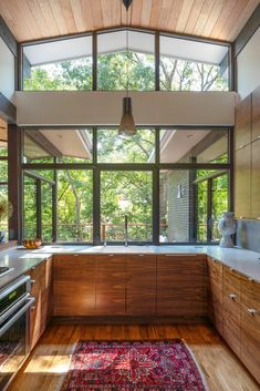 Midcentury inspired home - Dallas - kitchen