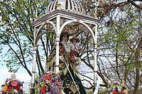 Virgen de Araceli, patrona de la ciudad cordobesa de Lucena, en España, poblado de origen romano y árabe.