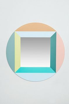 Round Square Mirror - Urban Outfitters