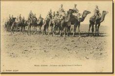 Peloton de Sahariens méharistes, Beni Abbès
