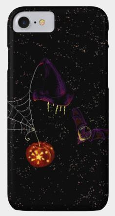 """This is a flower in space from Sophia Newtown's """"Fantasy flowers in space"""" collection, dedicated to Halloween. On DBH you may find this design printed on t-shirts, phone cases, tops, art prints and as stickers"""