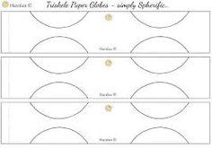 Image Result For Triskele Paper Globe Patterns
