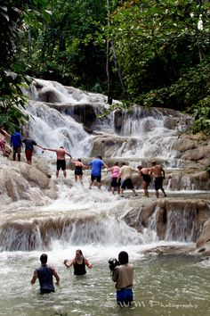 Been there. done that.  WANT to do it again! ;)Dun River Falls Jamaica