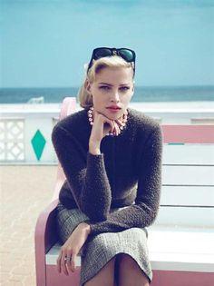 Vogue's Fabulous, 50s Inspired Fall Fashion (10 photos) - My Modern Metropolis #vogue #photography