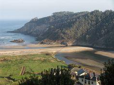 El Rincón de Casa El Caminero (Merás-Asturias): PLAYA DE CUEVA ( VALDÉS-ASTURIAS)