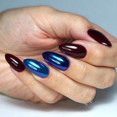 Absolutely fantastic 517 ❤and Mirror Powder Blue on 605,744 😍  @makear.pl  #nailart #nailsoftheday #nails #nail #hybrydnails #hybrydymanicure #instant #instanail #nails2inspire #paznokciehybrydowe  #piekne #paznokcie  #nailartist_manicure #nails #nailswag #awesome  #nailsmagazine  #nailru #nailstagram  #nailitdaily #nailpro  #instagramnails  #burgundynails #fall #autumnleaves #makear #delicatenails #beautifulnails #trna