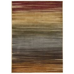 Found it at Wayfair - Margret Multicolored Stripe Area Rug