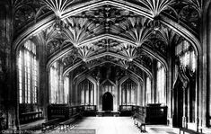 Photo of Oxford, Divinity Schools 1907 from Francis Frith Divinity School, School Days, Schools, Britain, Oxford, Journey, Photographs, Free, Collection