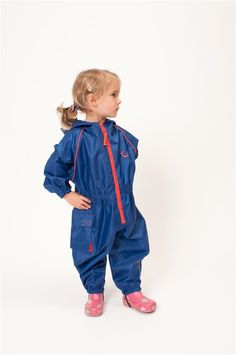 For fun and games despite the weather! Hippychicks Waterproof All In One Suits