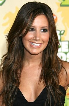 dark brown hair with light brown highlights photo 2012