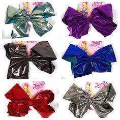 JoJo Siwa Cute Shiny Glitter Large Signature Hair Bow Cheer Dance Pageant #Nickelodeon