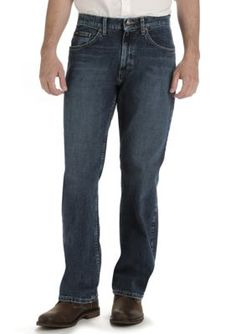 Lee Ric Big  Tall Loose Straight Leg Custom Fit Jeans