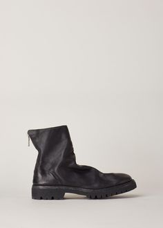 Guidi Zip Up Ankle Boot (Black)