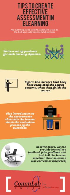 Tips to Create Effective #Assessments for your #Elearning Course – An #Infographic