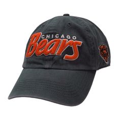 NFL Team Apparel Men's Contemporary Chicago Bears Modesto Slouch Snapback Adjustable Hat #VonMaur