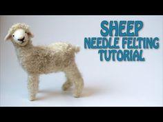 Needle Felting Sheep Tutorial | Childhood In Me